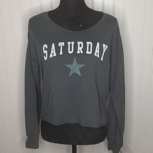 Grayson/Threads Sleepwear Sleep Sweatshirt Size Sm